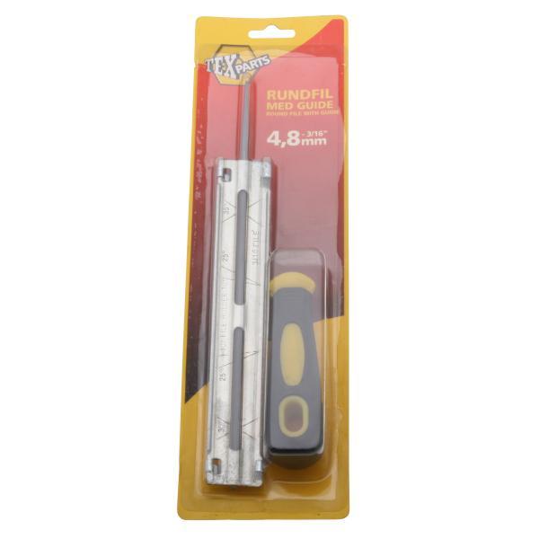 Fil med holder 4,8mm file & værktøj