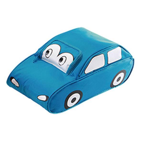 Madkasse bil blå