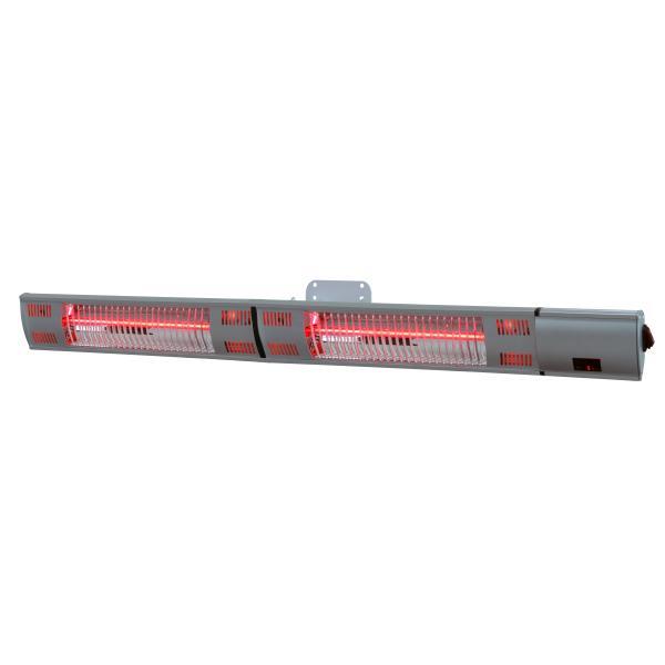 Elektrisk terrassevarmer 102x12x12cm
