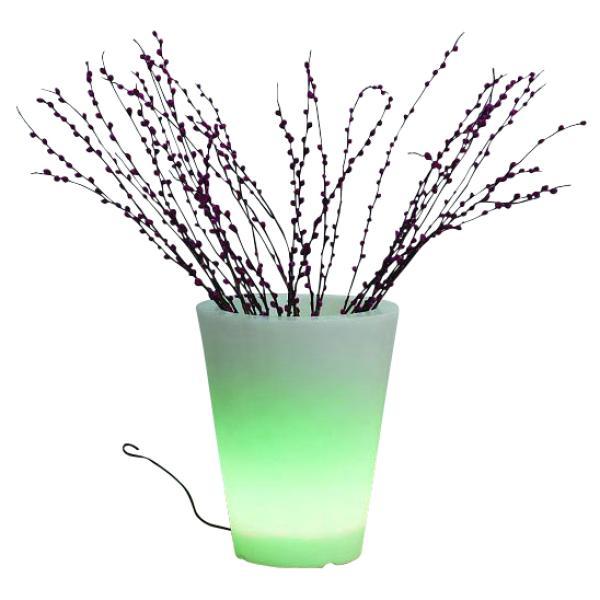 LED Krukke