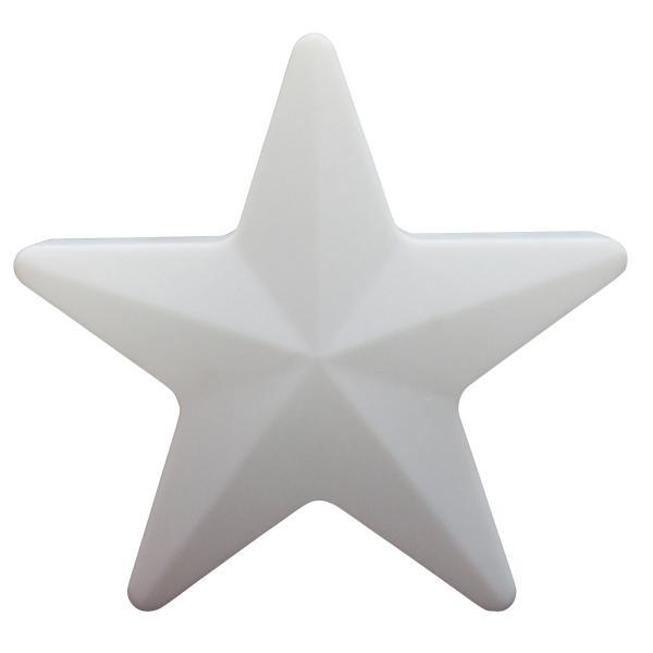 LED star batteri 40x40cm