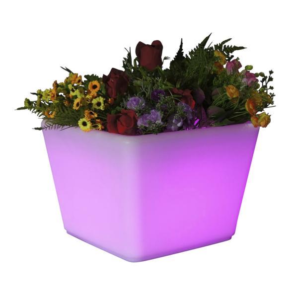 LED krukke 35x35x27 cm