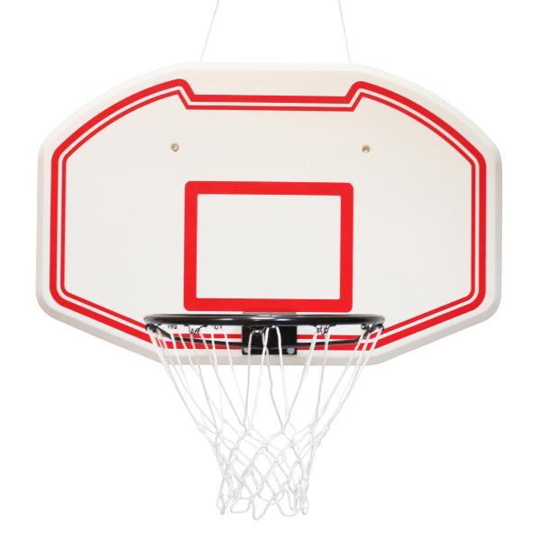 Basketballkurv med plade