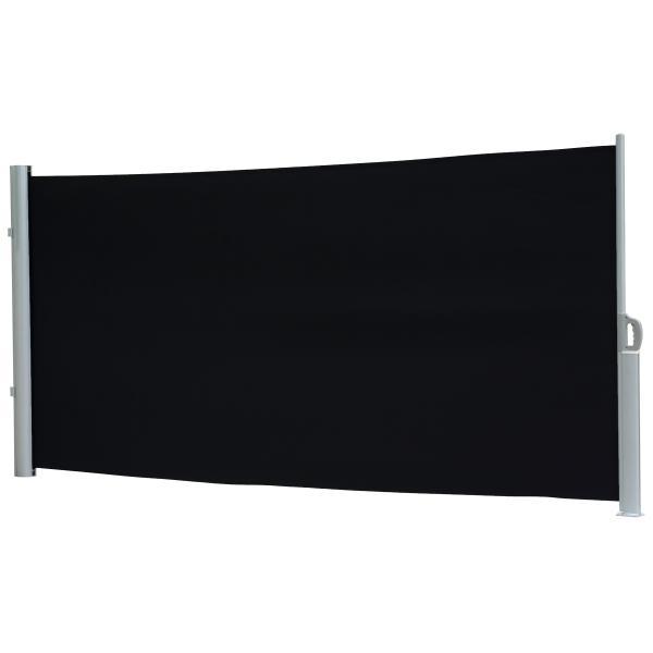 Essence læsejl lukket 300x160cm sort/grå læsejl