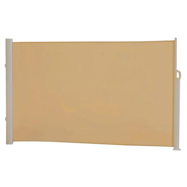 Essence læsejl lukket 300x160cm sand/hvid læsejl