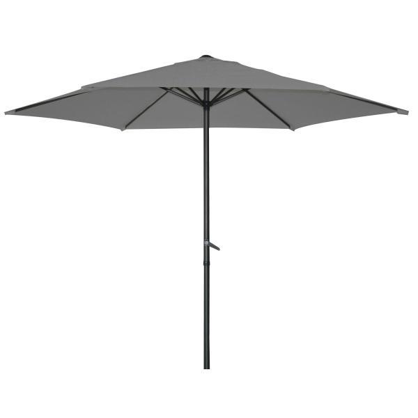 Parasol, grå 2,7m  parasol