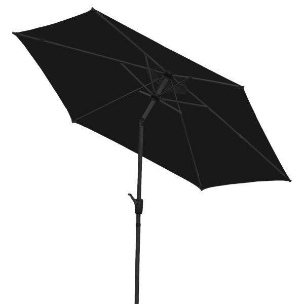 Parasol med vip sort 3m parasol