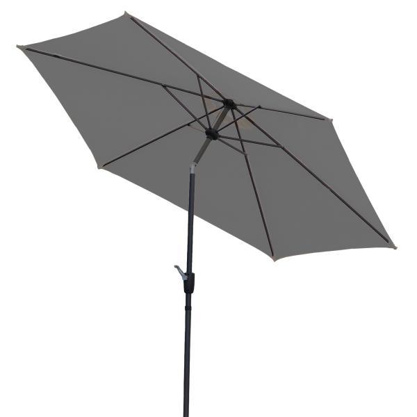 Parasol med vip grå 3m parasol