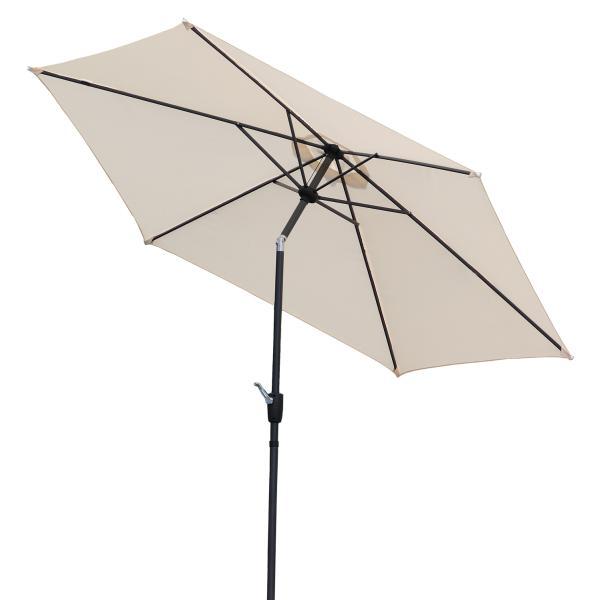 Parasol med vip, sand 3m parasol