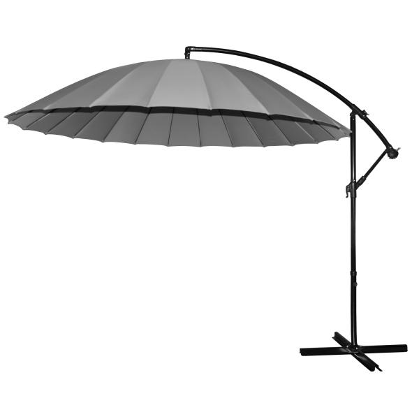 Hængeparasol grå 3M parasol