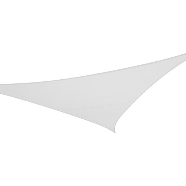 Solsejl hvid LUX 5x5x5m solsejl