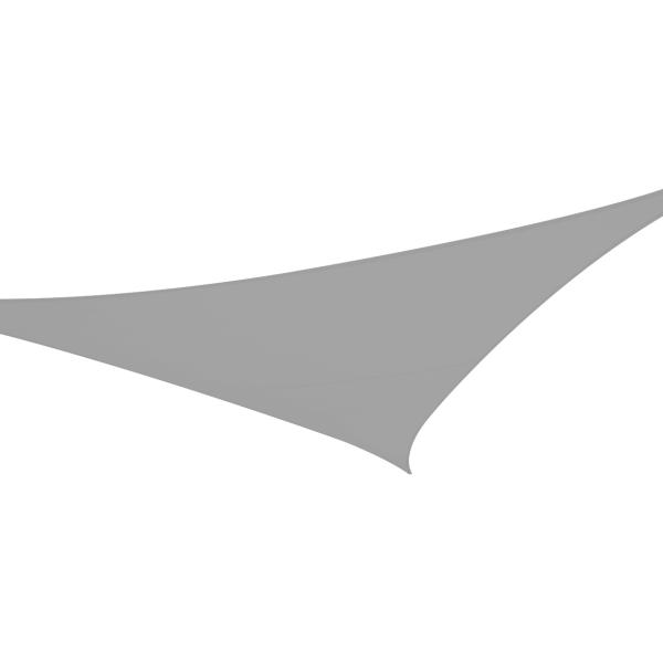 Solsejl grå SPECIAL 5x5x7,1m solsejl