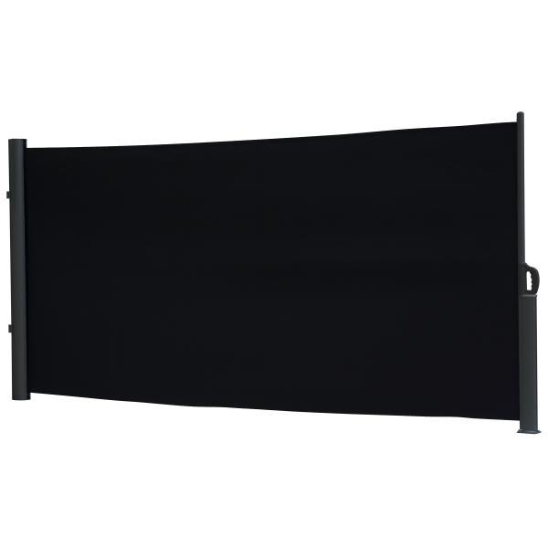 Essence læsejl lukket 400x160cm sort/sort læsejl