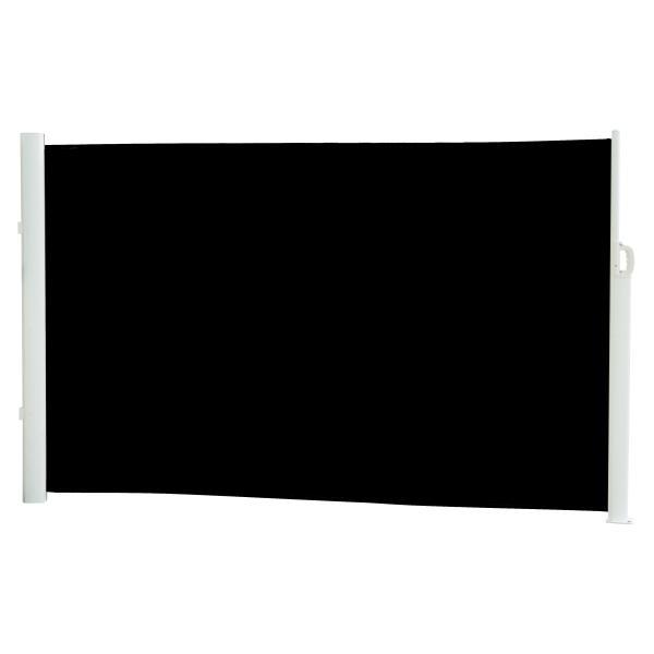 Essence læsejl lukket 400x180cm sort/hvid læsejl
