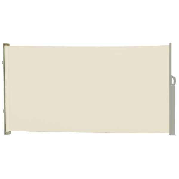 Essence læsejl åben 300x120cm creme/hvid læsejl