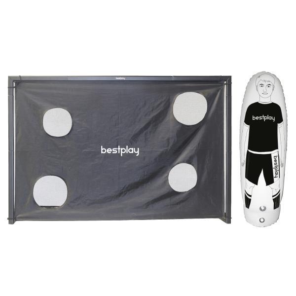 Bestplay håndboldmål 240x160cm + air dummy