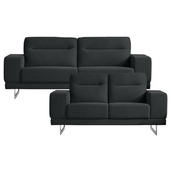 Oakland 2+3 pers. sofa mørkegrå