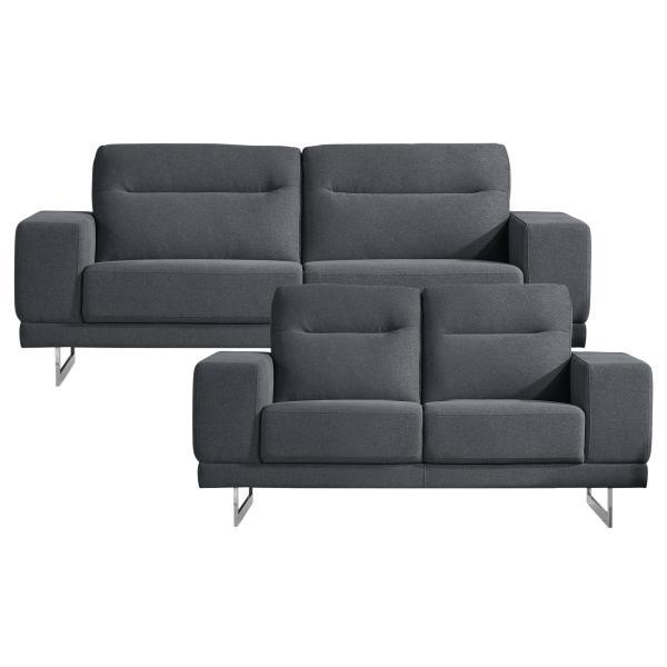 Oakland 2+3 pers. sofa lysegrå