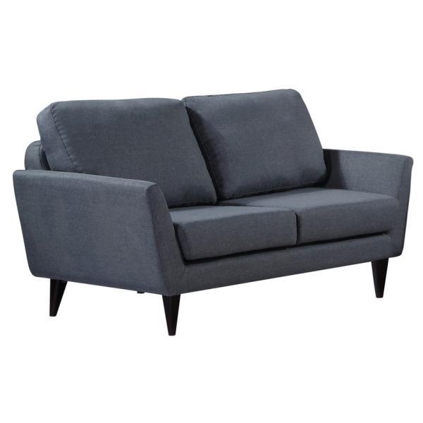 Napoli 2 pers sofa mørkegrå