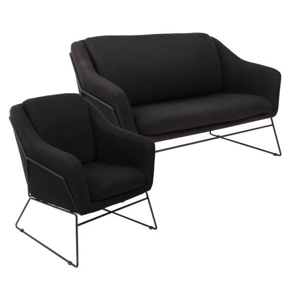 Jersey 1+2 pers. sofa sort