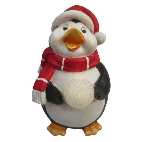 Pingvin havedekoration