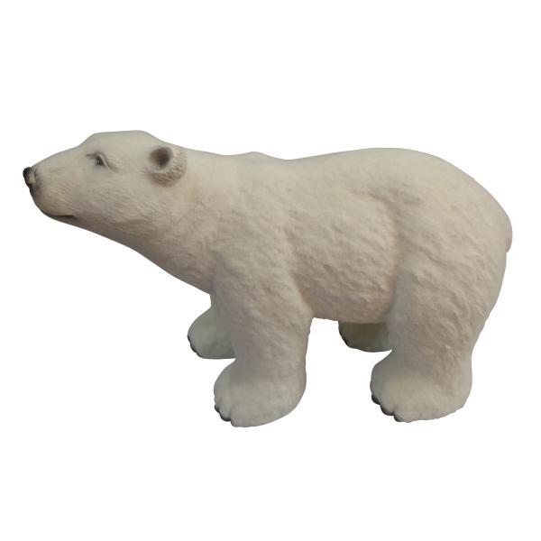 Isbjørn havedekoration