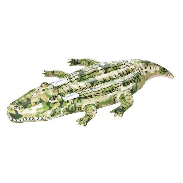 Oppustelig krokodille camouflage
