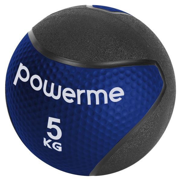Powerme medicinbold 5kg blå/sort