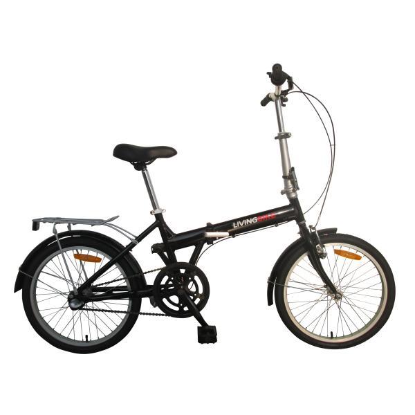 "Foldecykel 20"" stål 1 gear sort"