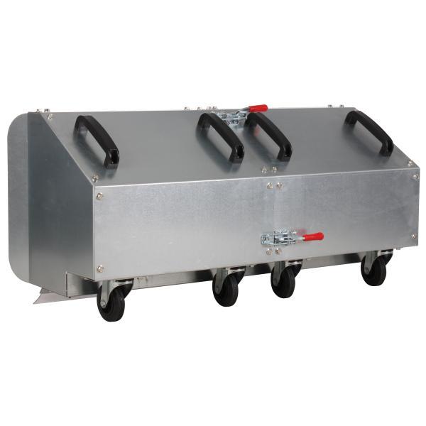 Collection box 100 cm rear tiller accessory