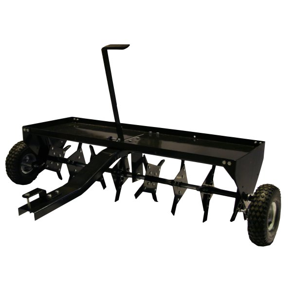 Lawn spiker for lawn tractor lawn tractor
