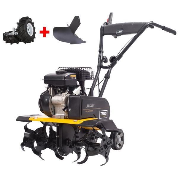 Lilli 365TG m/hjulsæt og hyppeplov motocultor / cultivator