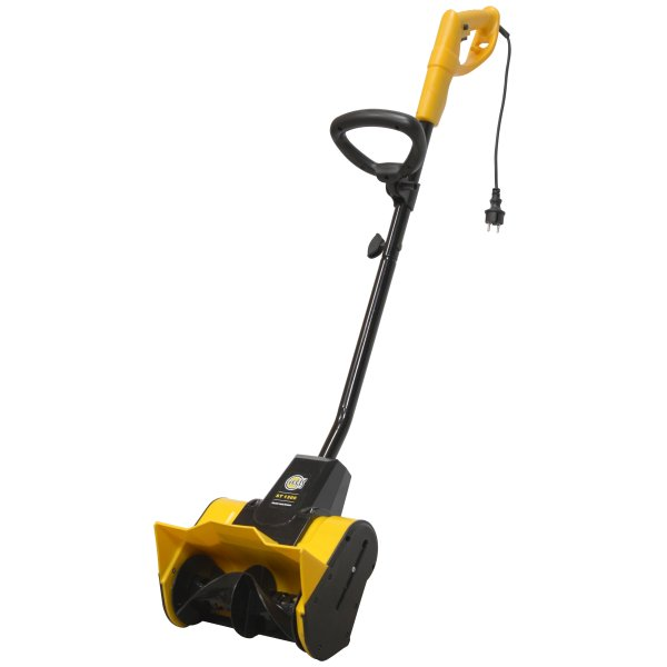 Powerful Handheld Electric Snow Blowers : St electric snow thrower blower texas a s