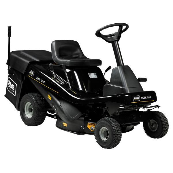 Rider 7600E 3i1 lawn tractor
