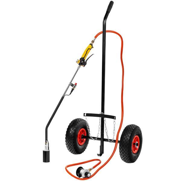 Prof. gasbrændersæt med lufthjul