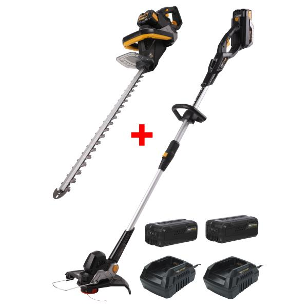 2i1 pakke: GTX4000+HTX4000 trimmer & brushcutter