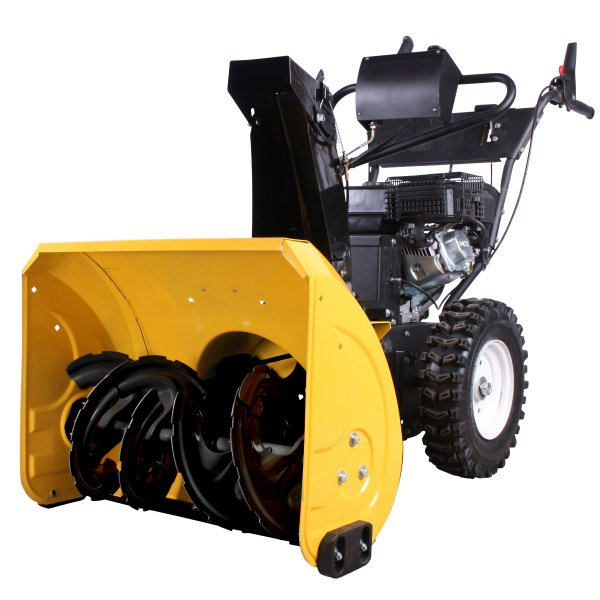 Combi 800TGE w/snow thrower snow blower